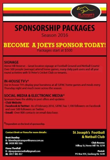 sponsorship flyer 2016